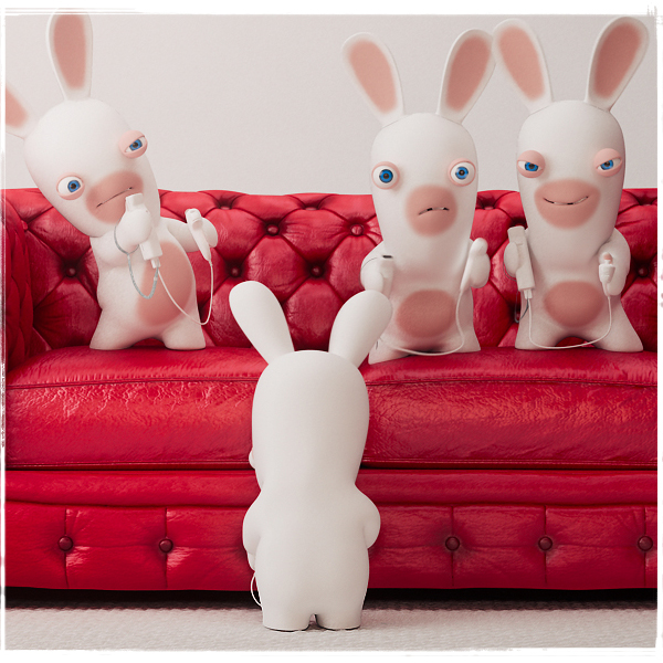 Raving Rabbids – Back in Time